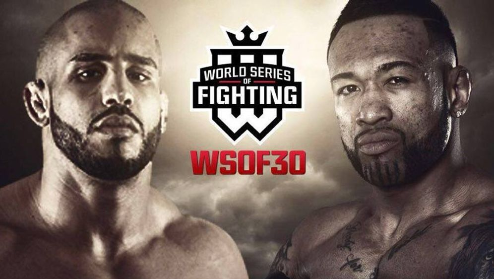 MMA-Fighter Abu Azaitar (l.) kämpft in Vegas gegen Danny Davis Jr. - Bildquelle: WSOF