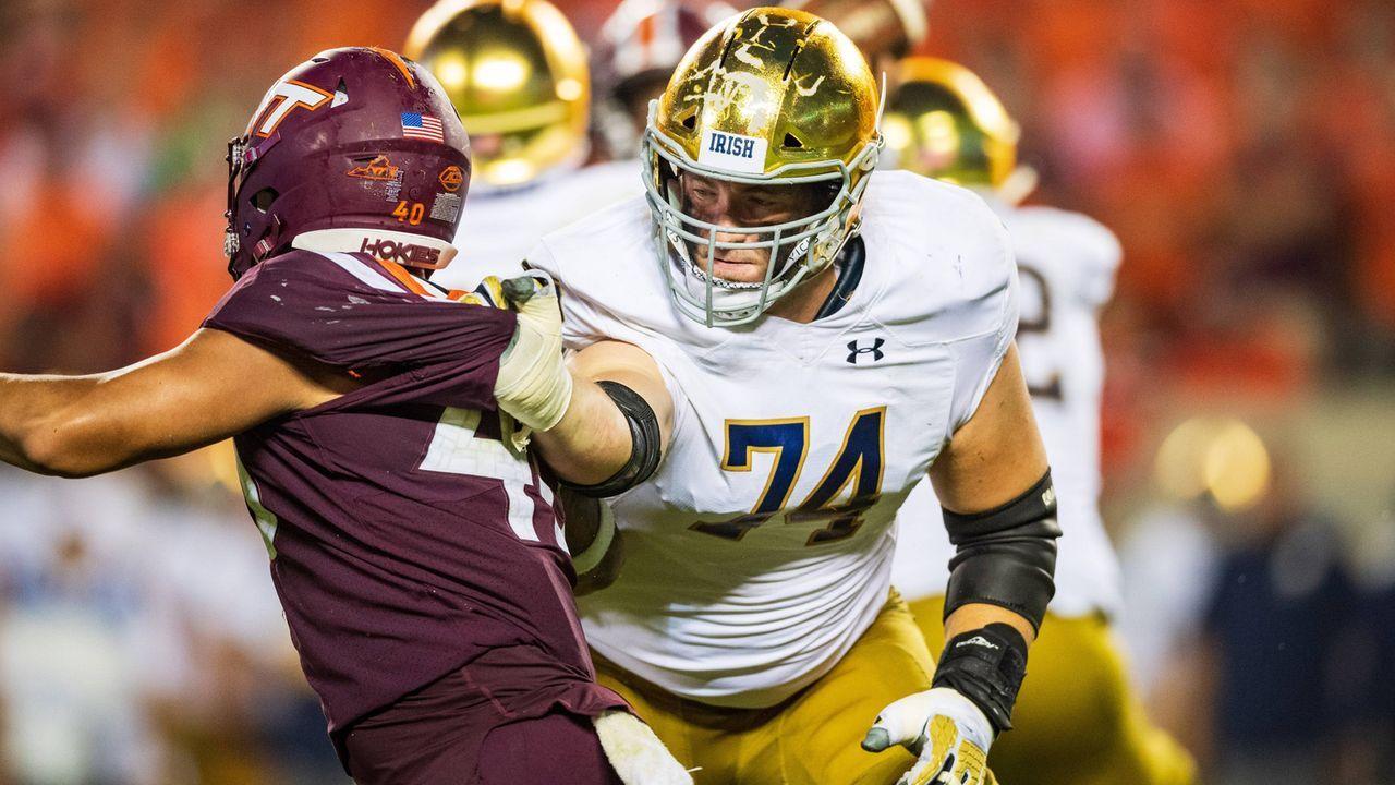 Pick 22: Liam Eichenberg (Offensive Tackle, Notre Dame) - Bildquelle: imago/ZUMA Press