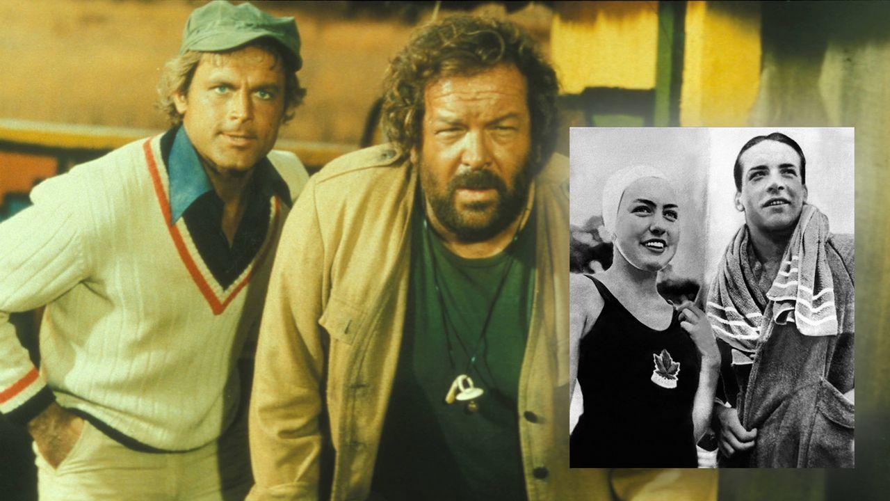 "Carlo Pedersoli alias ""Bud Spencer"" (Schwimmen) - Bildquelle: Imago Images"