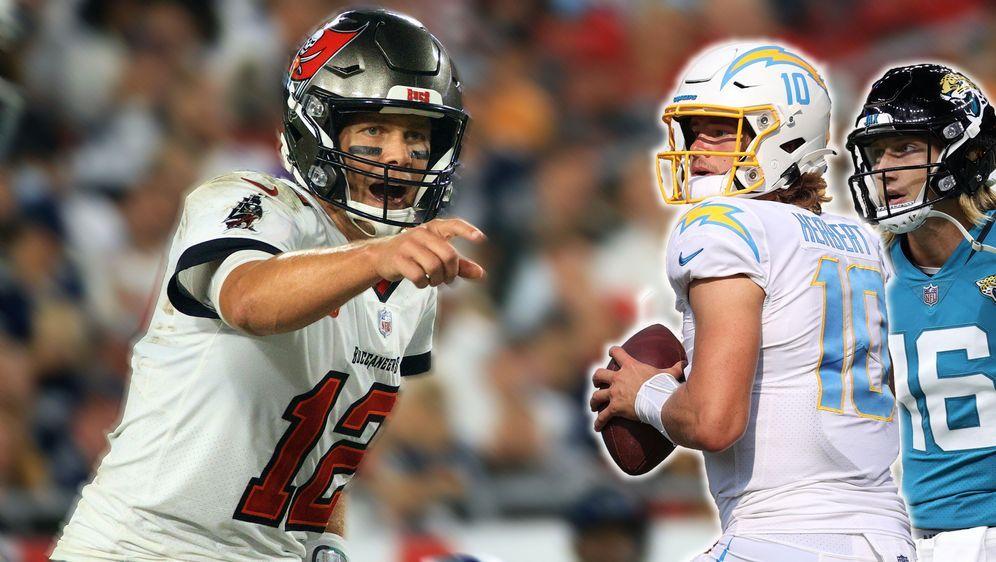Tom Brady lobt die neue Quarterback-Generation. - Bildquelle: Getty Images