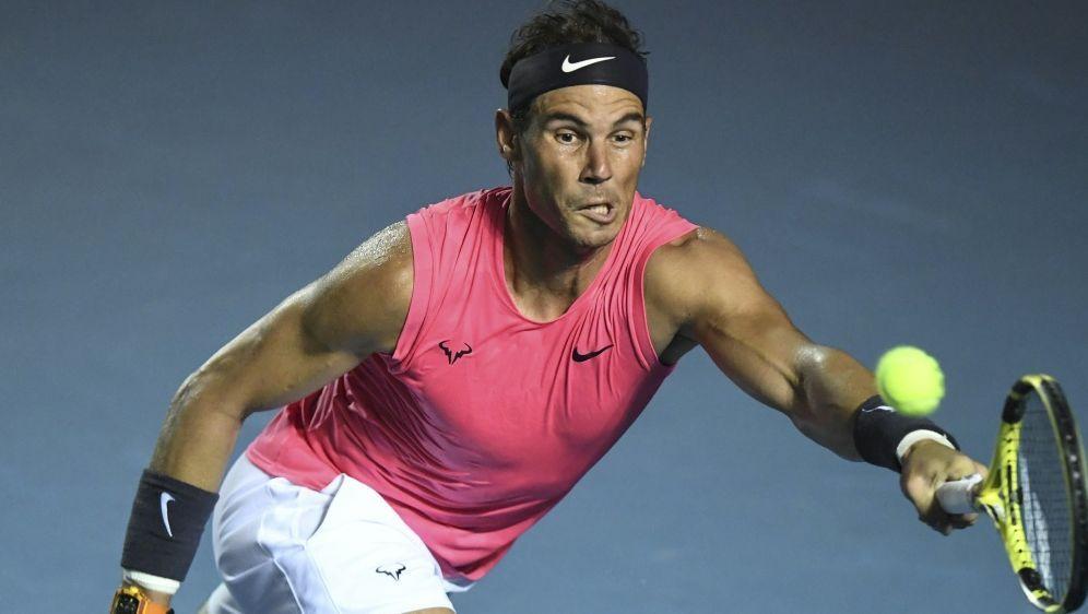 Rafael Nadal sagt Tennis-Turnier in Madrid zu - Bildquelle: AFPSIDPEDRO PARDO