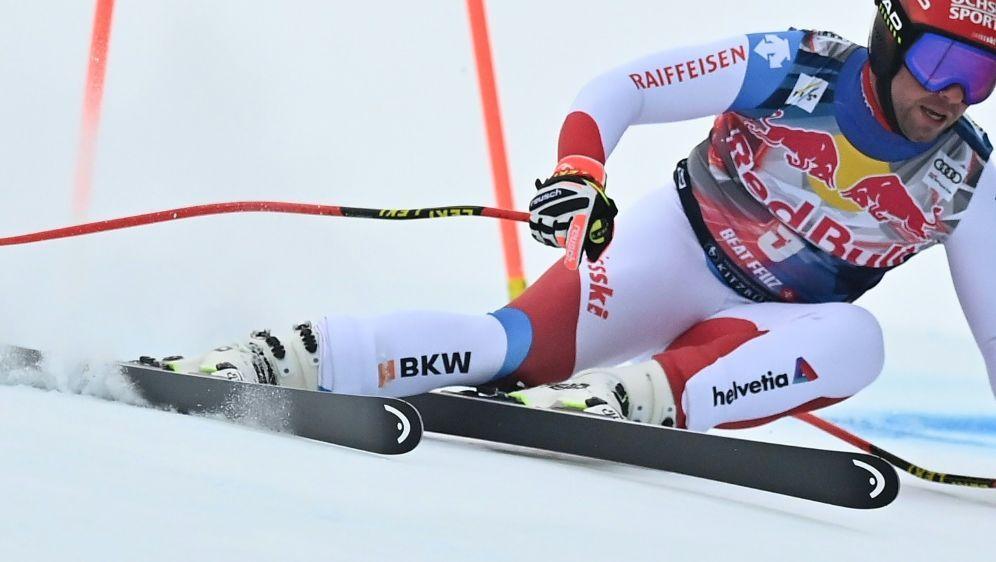 Feuz gewann auch die zweite Abfahrt in Kitzbühel - Bildquelle: AFPSIDJOE KLAMAR