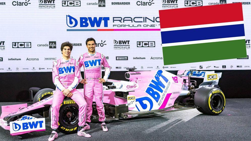 Das Formel-1-Team Racing Point unterstützt Menschen in Gambia durch den Bau ... - Bildquelle: imago images/Eibner Europa
