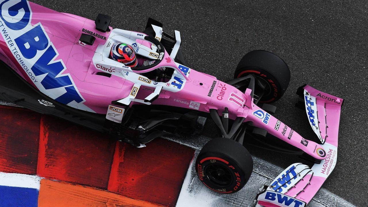 Sergio Perez (Racing Point) - Bildquelle: 2020 Getty Images