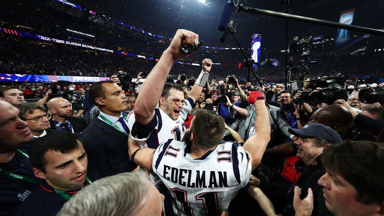Platz 1: New England Patriots - Bildquelle: 2019 Getty Images