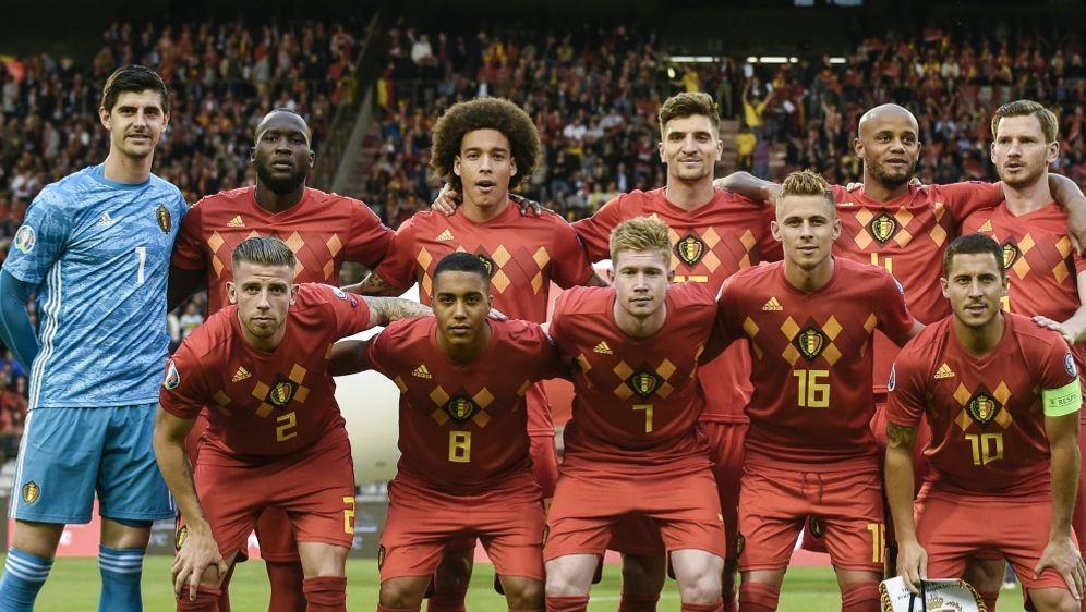 Belgien setzte sich gegen Schottland durch - Bildquelle: AFPSIDJOHN THYS
