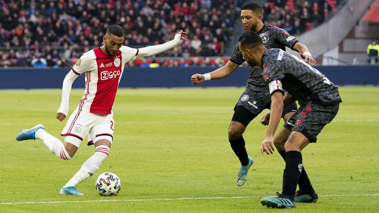 Platz 8: Eredivisie (Niederlande) - Bildquelle: imago images/Pro Shots