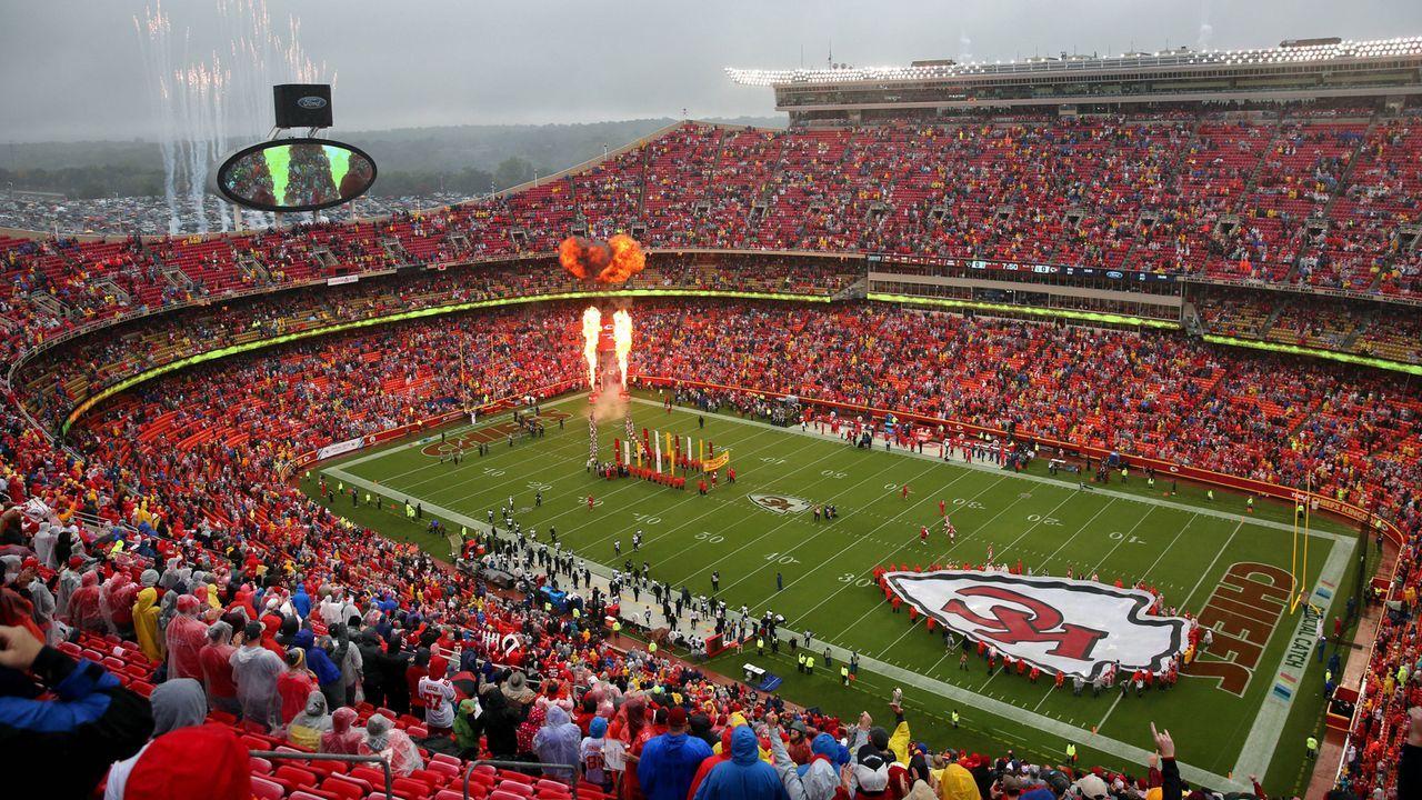 1. Arrowhead Stadium, Kansas City - Bildquelle: imago/Icon SMI