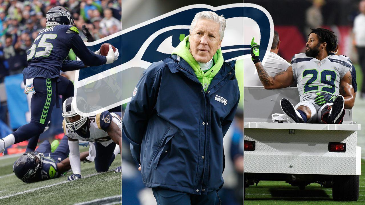 Das sind die Free Agents der Seattle Seahawks 2019 - Bildquelle: ran.de/Getty