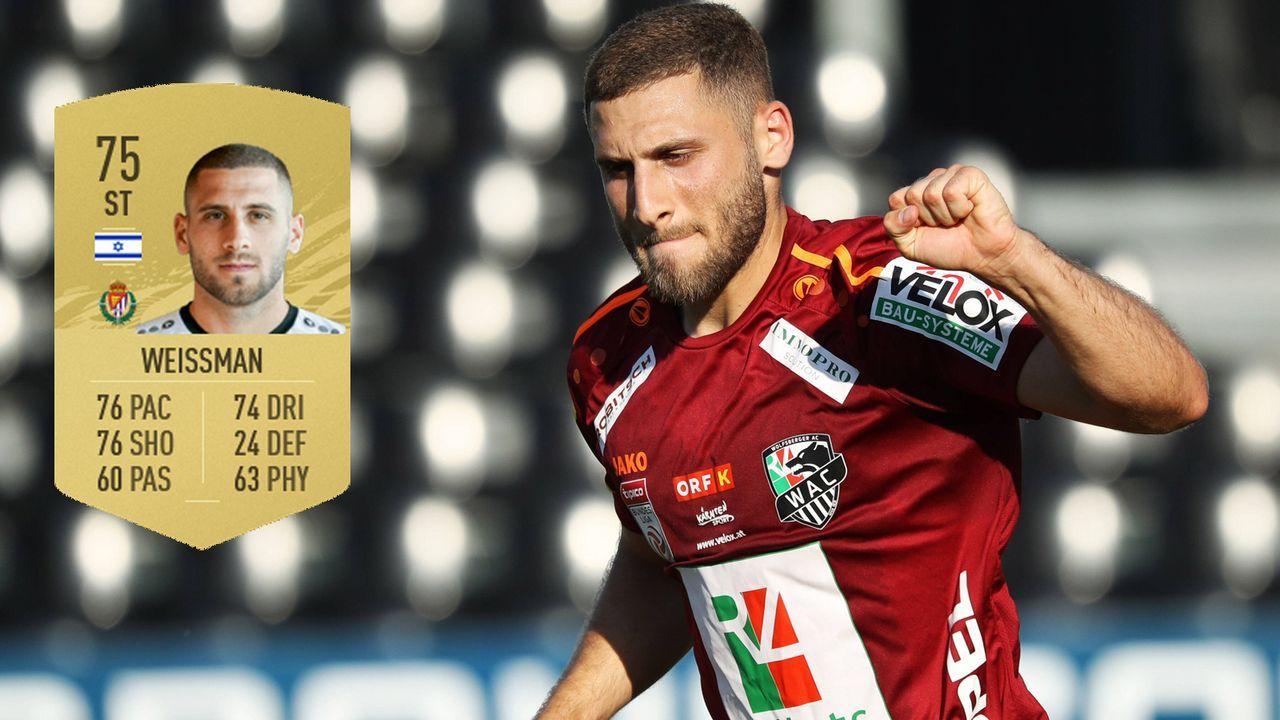 Shon Weissman (Real Valladolid) - Bildquelle: Imago / Futhead