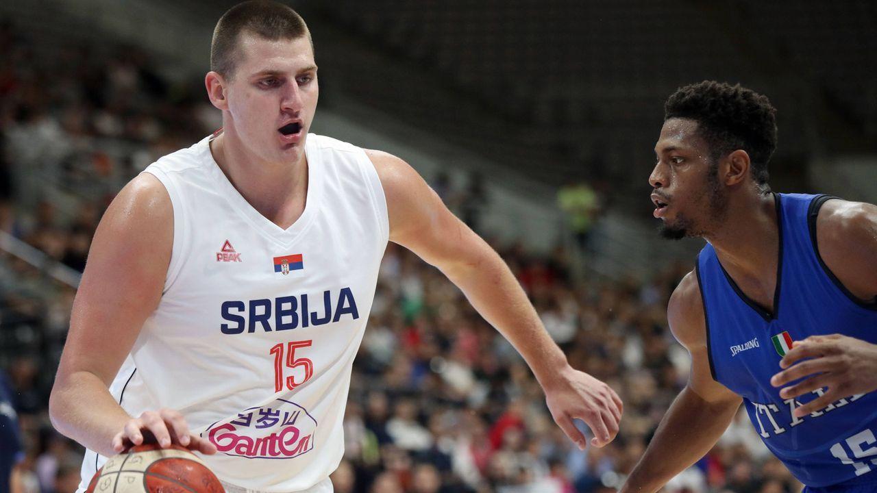 Nikola Jokic (24, Serbien)  - Bildquelle: imago images / Xinhua