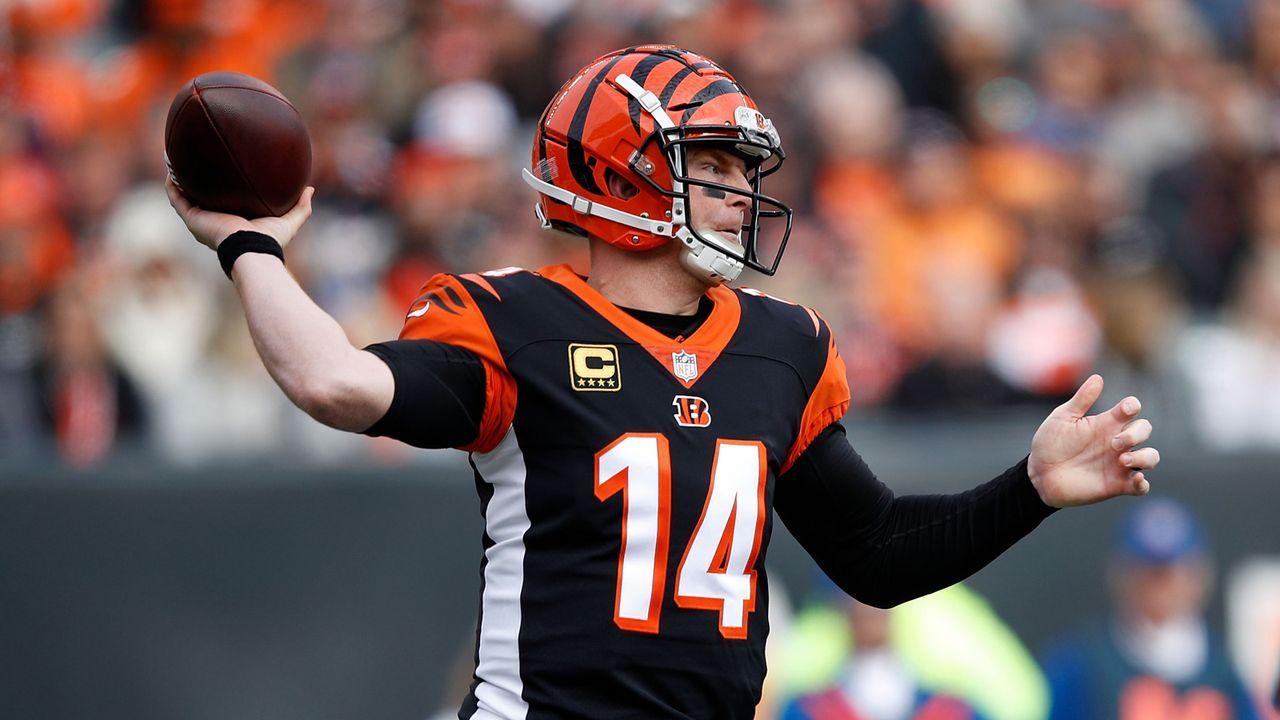 Cincinnati Bengals: Andy Dalton - Bildquelle: 2018 Getty Images