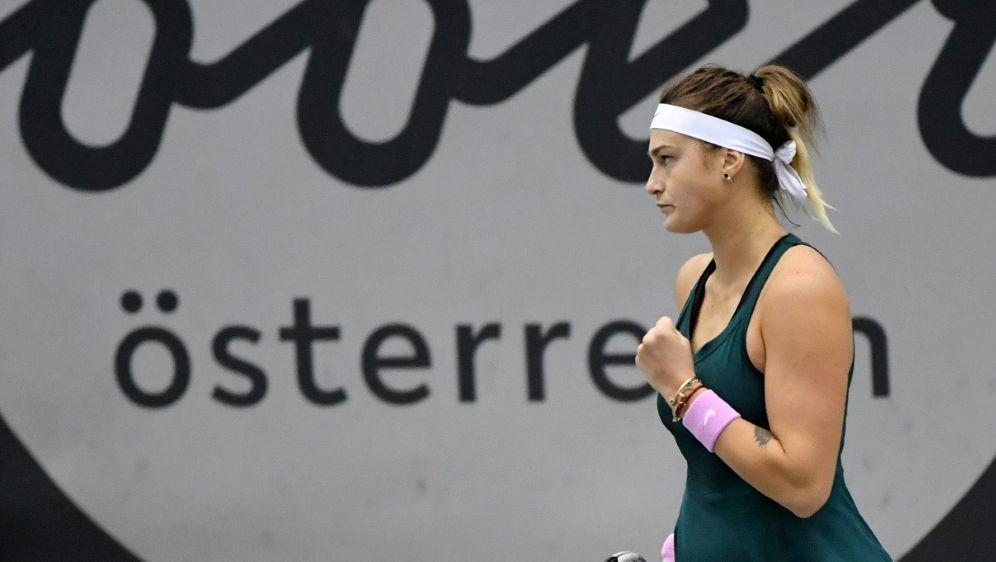 Aryna Sabalenka gewinnt das Turnier von Linz - Bildquelle: AFPSIDBARBARA GINDL