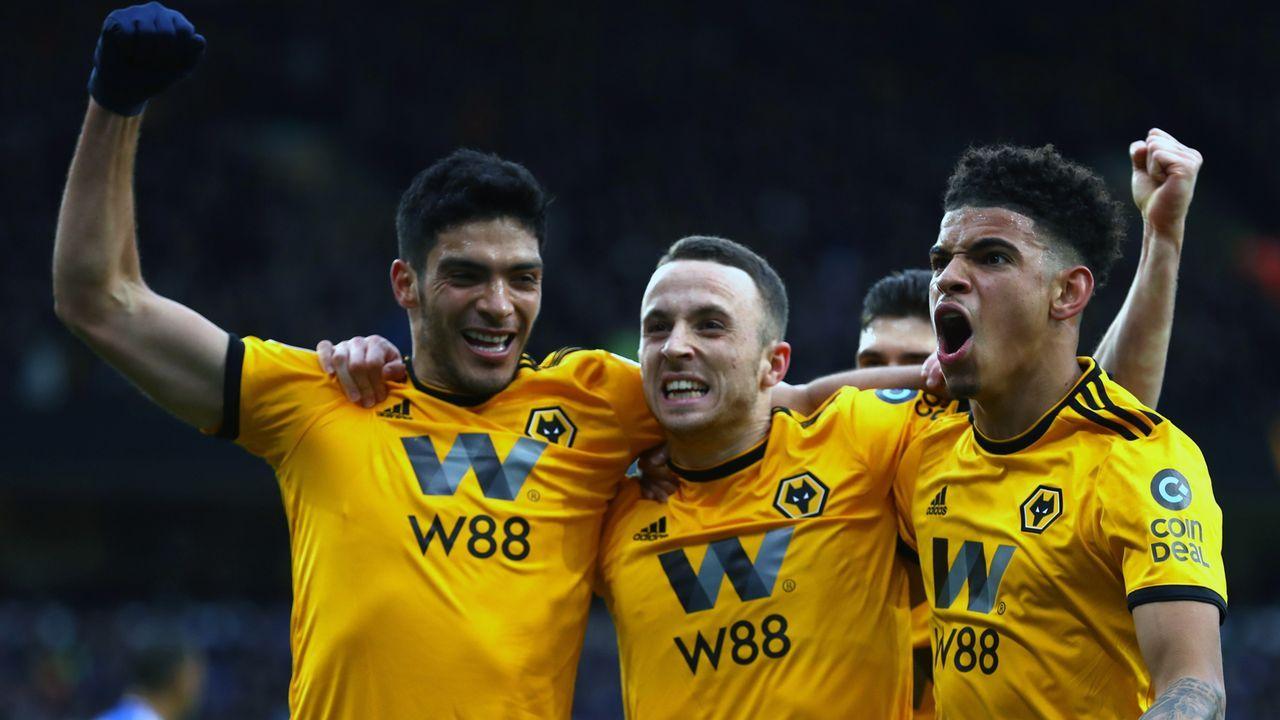 Platz 16 - Wolverhampton Wanderers - Bildquelle: 2019 Getty Images