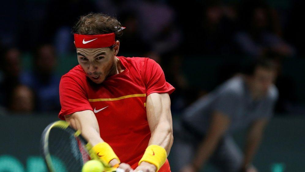 Rafael Nadal bleibt nach zweitem Spiel makellos - Bildquelle: PIXATHLONPIXATHLONSID