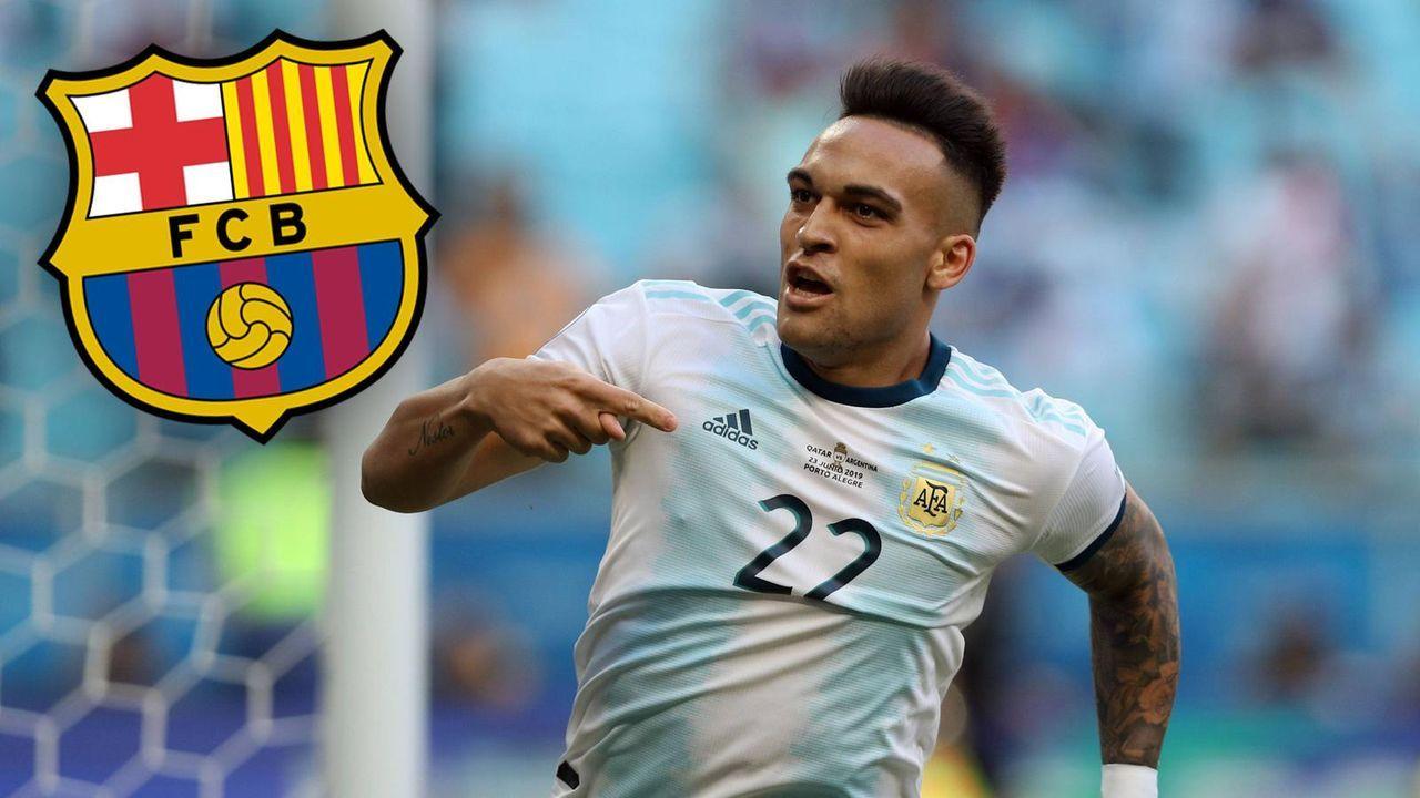 Lautaro Martinez (Inter Mailand) - Bildquelle: imago