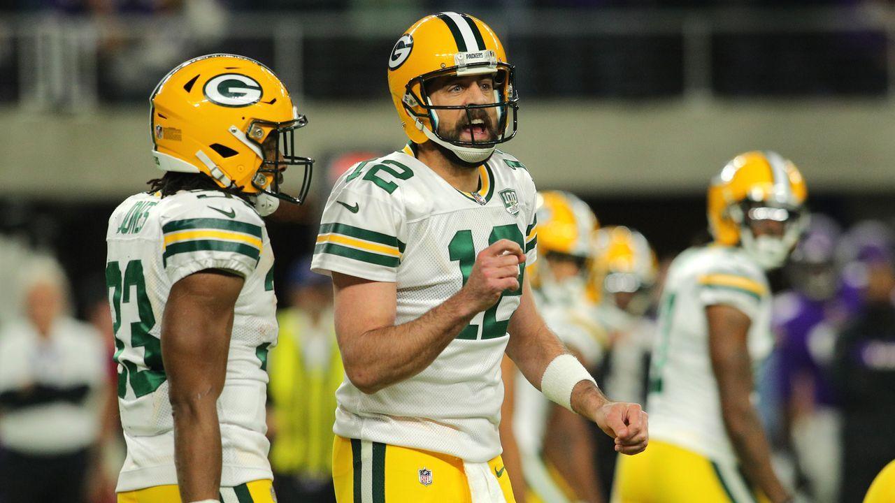 Verlierer: Packers verlieren NFC-North-Showdown - Bildquelle: 2018 Getty Images