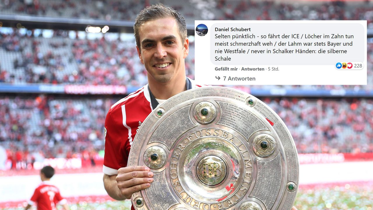 War nie Westfale: Philipp Lahm - Bildquelle: facebook.com/ransport/2017 Getty Images