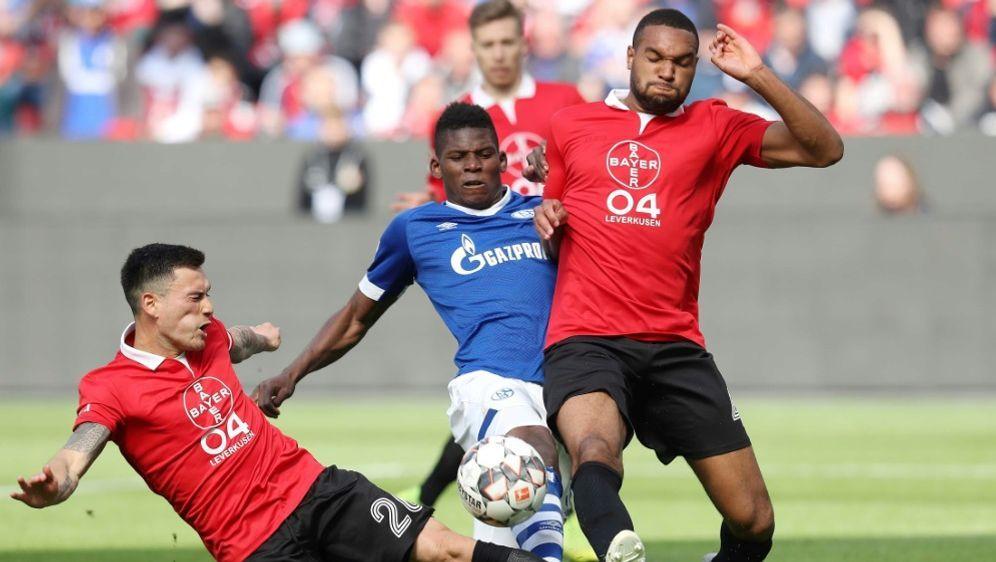 Umkämpftes Spiel zwischen Leverkusen und Schalke - Bildquelle: FIROFIROSID