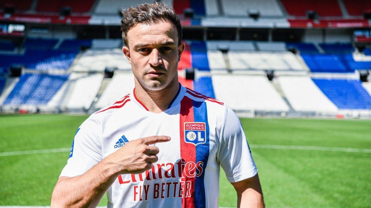 Xherdan Shaqiri (Olympique Lyon) - Bildquelle: twitter@OL_English