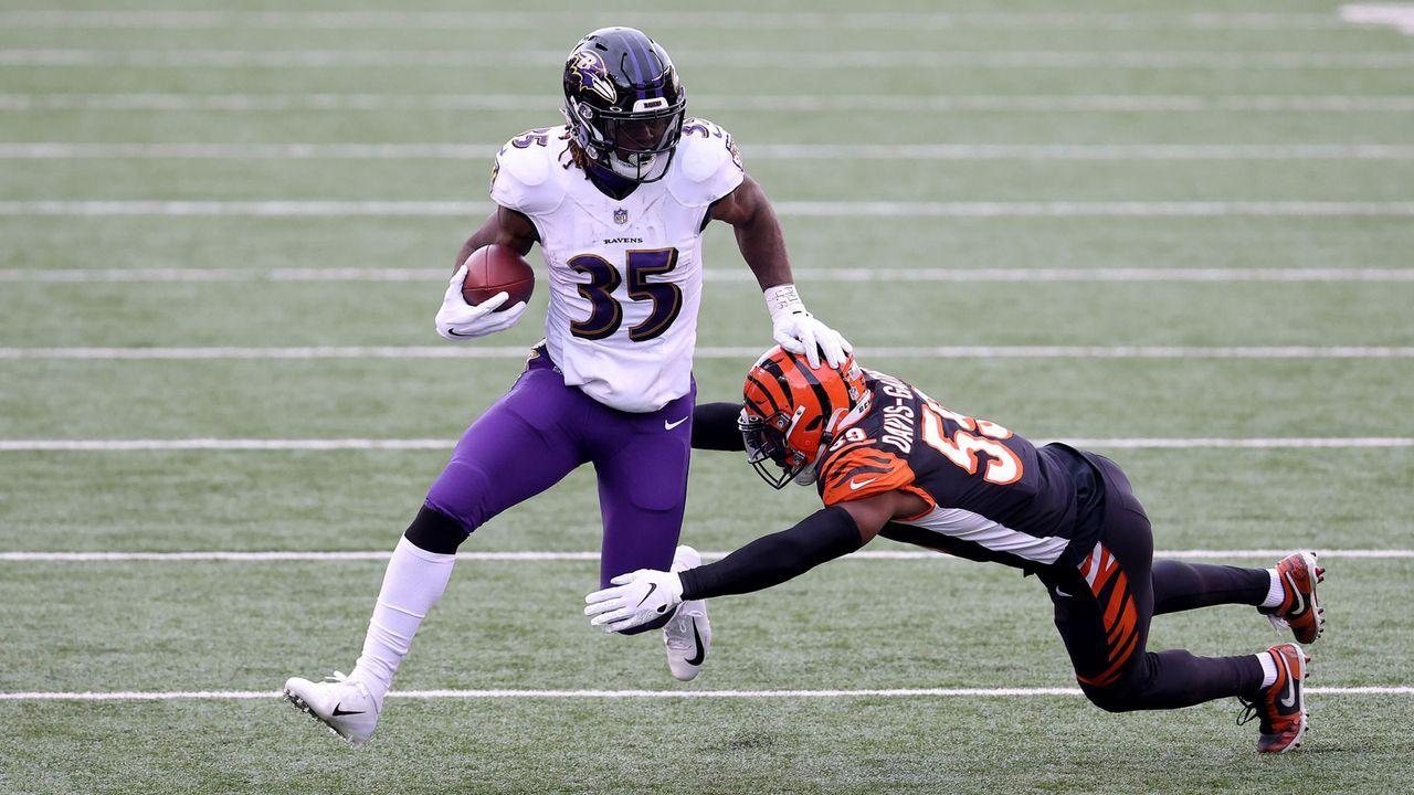 Gus Edwards (Baltimore Ravens) - Bildquelle: Getty Images