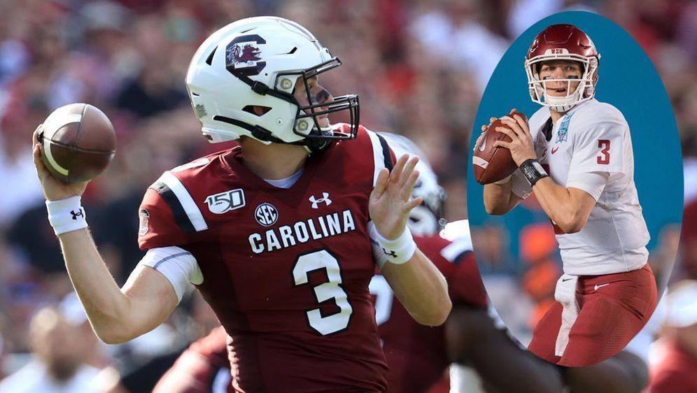 Ryan Hilinski ist mit nur 18 Jahren Startig-Quarterback der South Carolina G... - Bildquelle: Getty Images / imago
