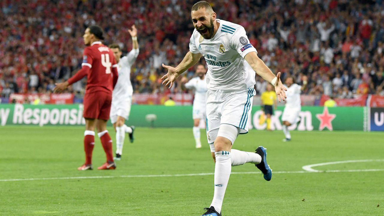Karim Benzema (Real Madrid) - Bildquelle: 2018 Getty Images
