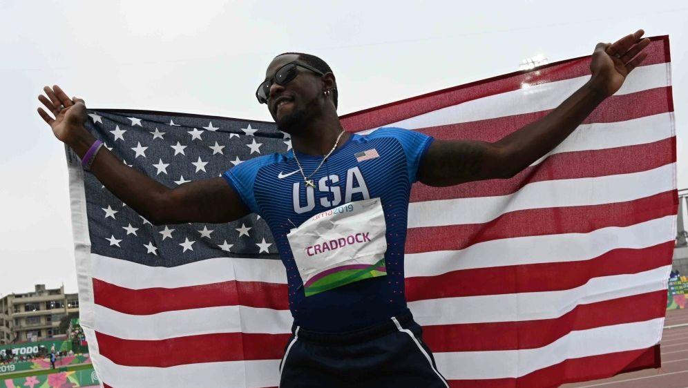 US-Dreispringer Omar Craddock vorerst suspendiert - Bildquelle: AFPSIDPEDRO PARDO