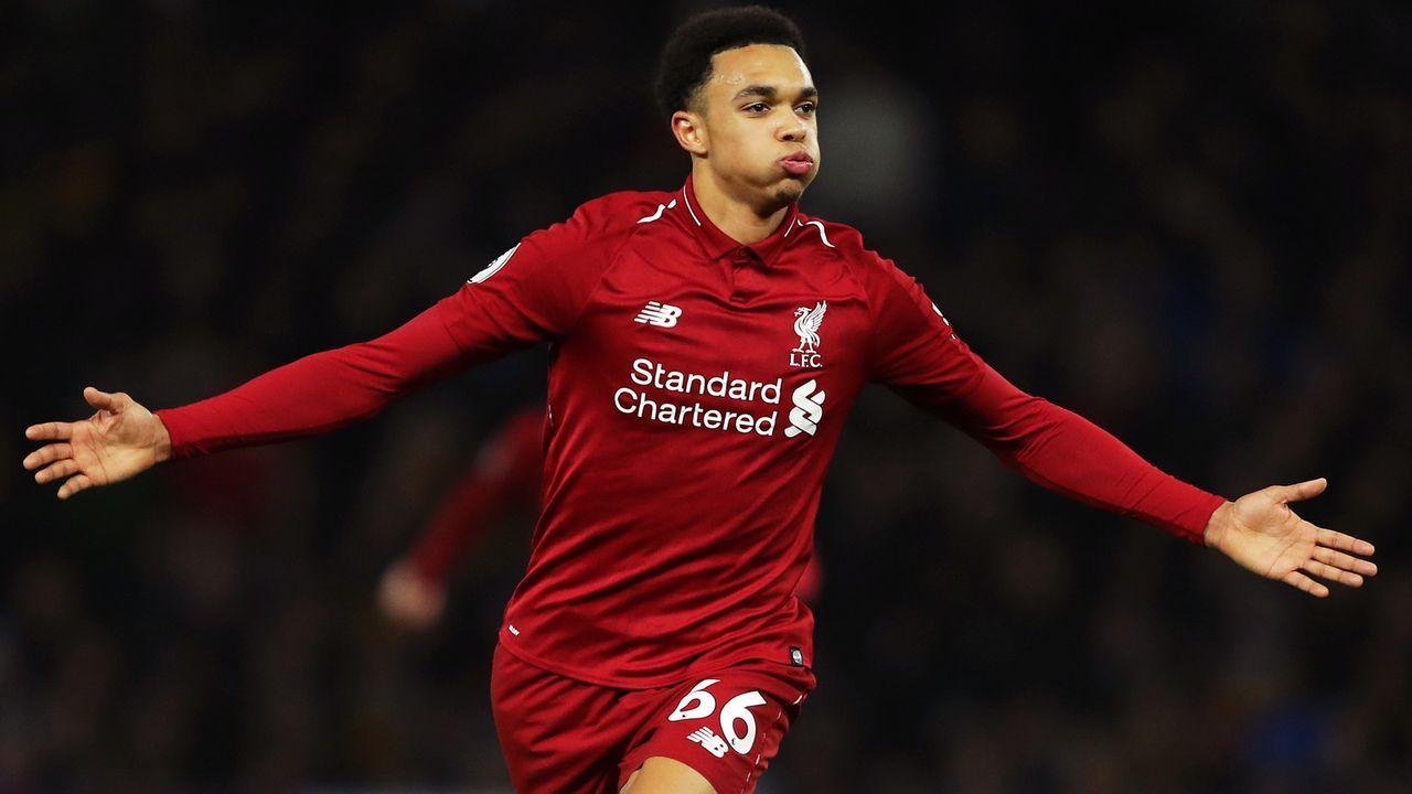 Platz 9 - Trent Alexander-Arnold (FC Liverpool) - Bildquelle: 2018 Getty Images