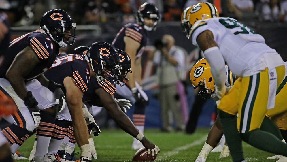 Die Green Bay Packers empfangen die Chicago Bears. - Bildquelle: getty