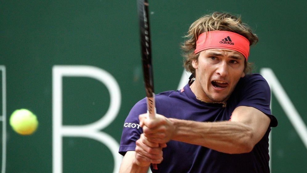 Zverev gewann im Finale gegen Nicolas Jarry - Bildquelle: AFPSIDFABRICE COFFRINI