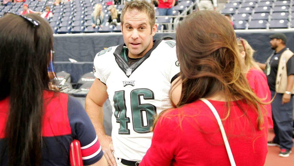 Jon Dorenbos spielt seit 2006 für die Philadelphia Eagles. - Bildquelle: imago/ZUMA Press