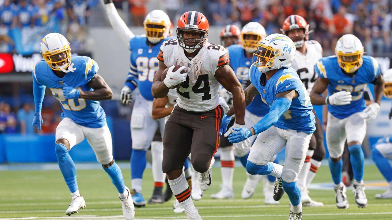 Nick Chubb (Cleveland Browns) - Bildquelle: Imago Images