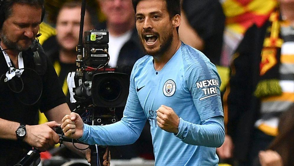 David Silva gewann mit City viermal die Meisterschaft - Bildquelle: AFPSIDDANIEL LEAL-OLIVAS