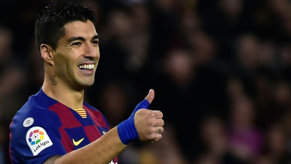 Luis Suarez war 2014 zum FC Barcelona gewechselt - Bildquelle: AFPSIDJOSE JORDAN