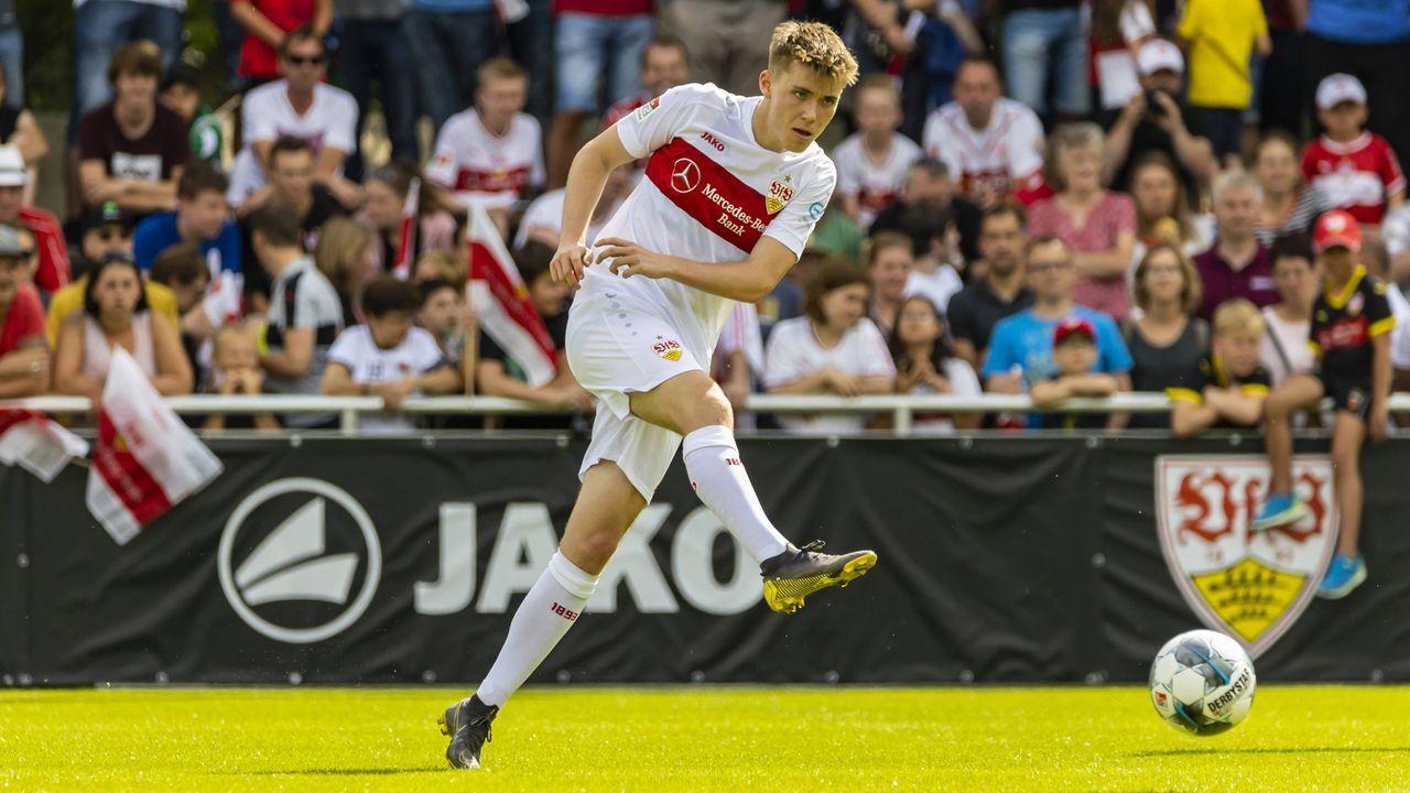 Luca Mack (Innenverteidiger, VfB Stuttgart) - Bildquelle: imago images / Arnulf Hettrich