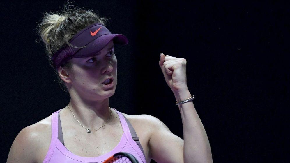 Jelena Switolina steht in Shenzen erneut im Finale - Bildquelle: AFPSIDNOEL CELIS