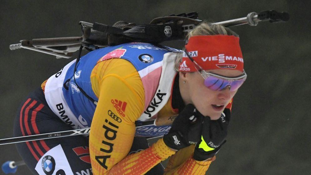 Denise Herrmann verpasste eine Medaille - Bildquelle: AFPSIDTOBIAS SCHWARZ