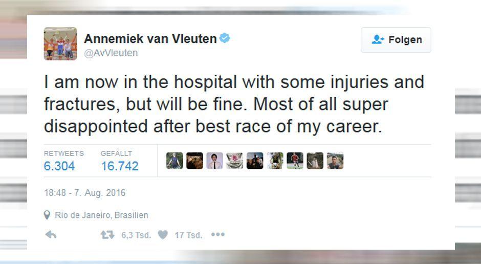 Annemiek van Vleuten (Radpsort-Holland) - Bildquelle: Twitter/AvVleuten