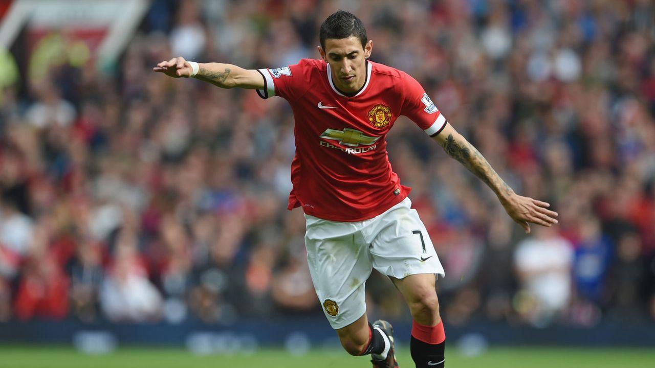 6. Platz: Manchester United 2014/15 - Bildquelle: 2014 Getty Images