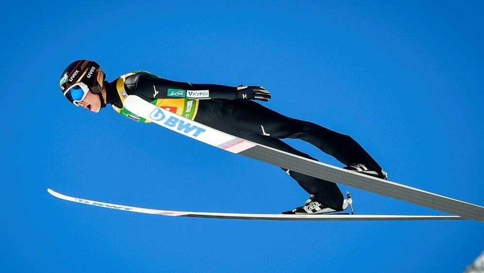 Flog in Planica bis auf 252,0 m: Ryoyu Kobayashi - Bildquelle: AFPSIDJure Makovec