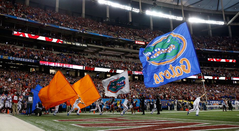 6. Florida Gators - Bildquelle: 2015 Getty Images