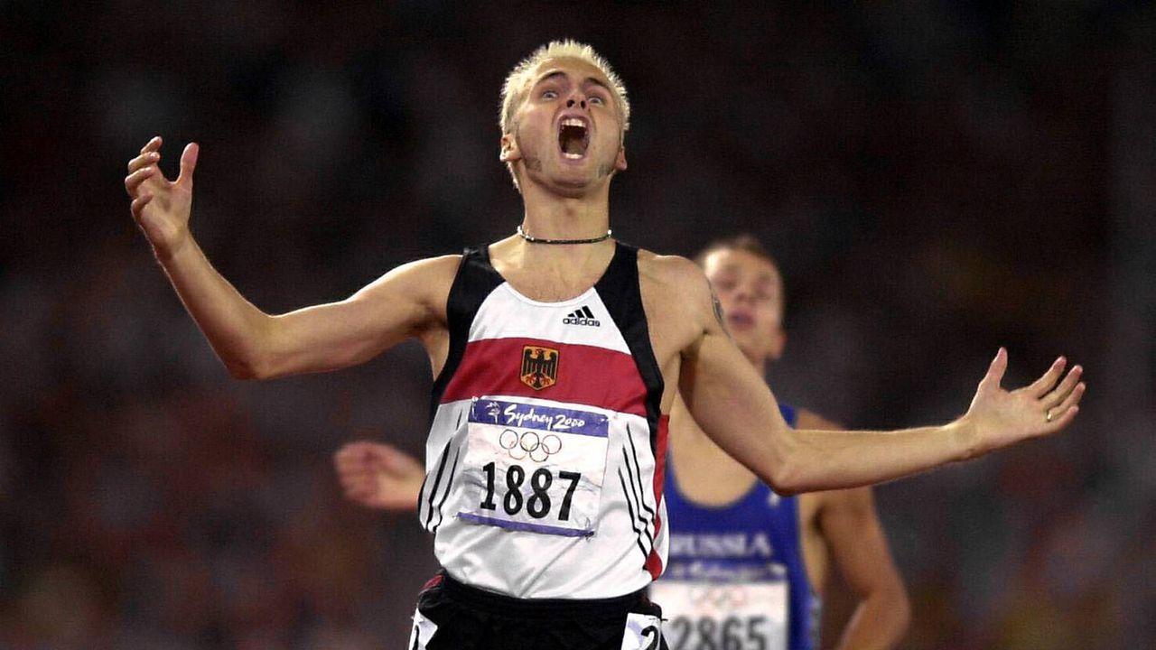 Nils Schumann läuft zum Olympia-Titel