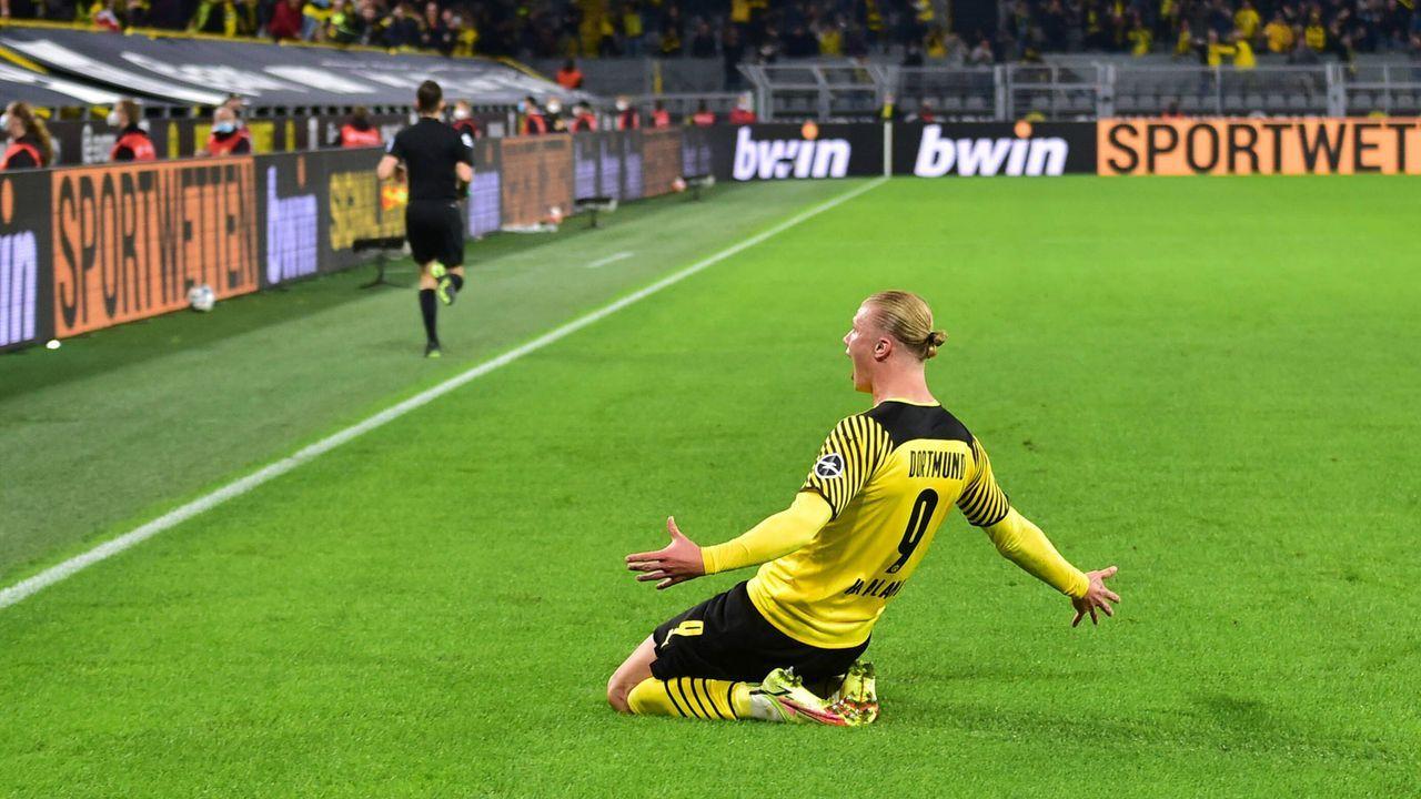 Das Torjägerduell bei Borussia Dortmund gegen TSG Hoffenheim - Bildquelle: imago