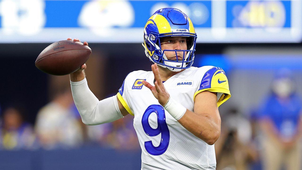 1. Spieltag - Matthew Stafford (Los Angeles Rams) - Bildquelle: 2021 Getty Images