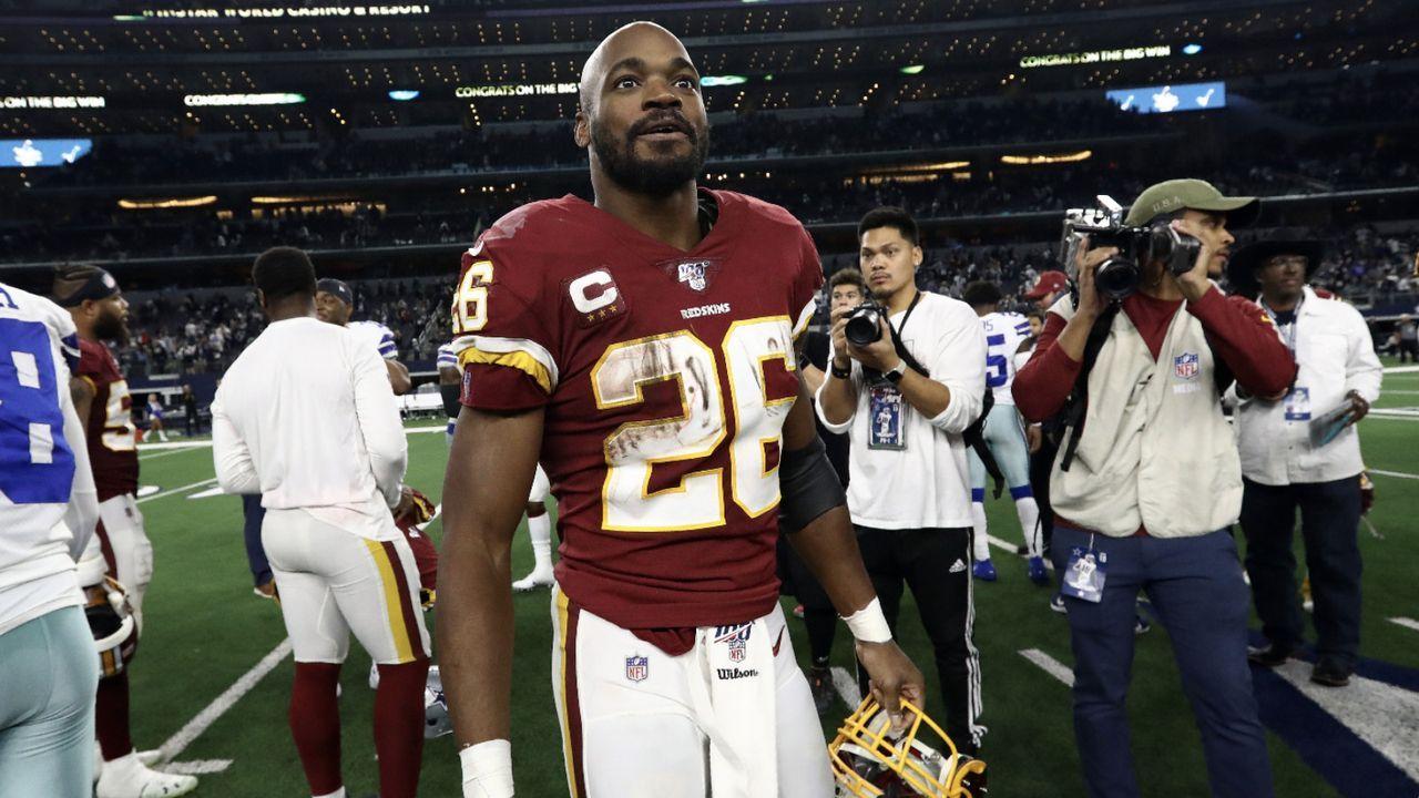 Adrian Peterson (Washington Redskins) - Bildquelle: Getty