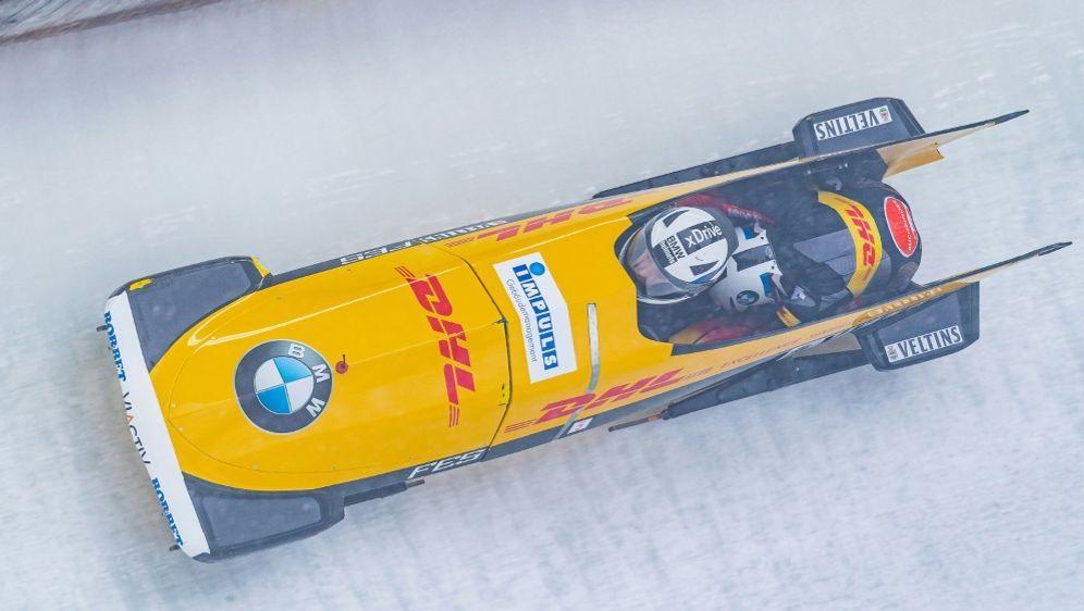 Laura Nolte gewinnt den Weltcup in Sigulda - Bildquelle: AFPSIDSTEFAN ADELDBERGER