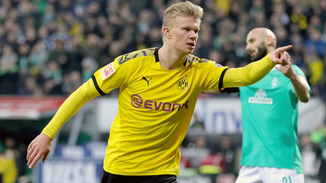 BVB-Star Erling Haaland mit Tor-Rekord - Bildquelle: imago images/RHR-Foto