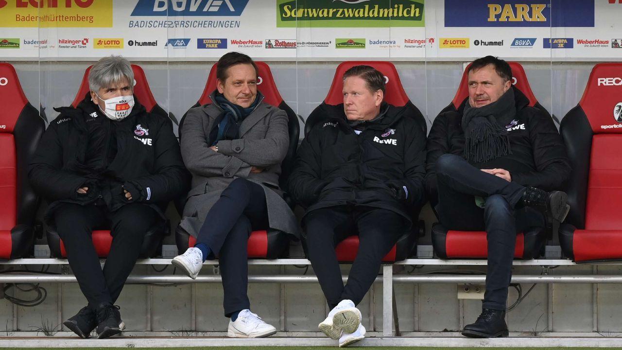 In Köln nimmt die Trainerdiskussion Fahrt auf - Bildquelle: getty