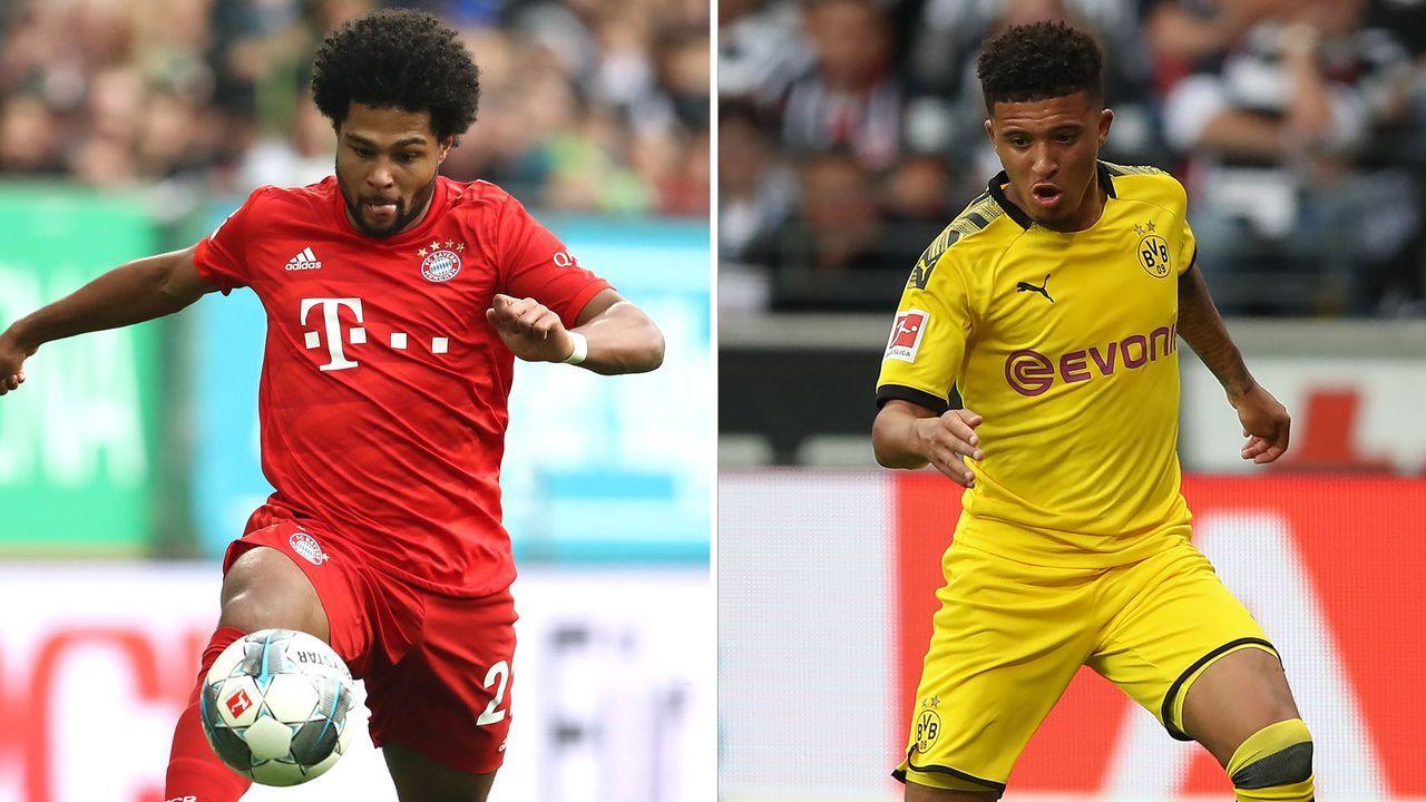 Rechtes offensives Mittelfeld: Serge Gnabry vs. Jadon Sancho - Bildquelle: Getty Images